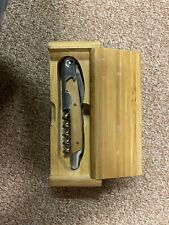 "New listing Legacy - Elan Waiter-Style Corkscrew ""Michigan Chamber of Commerce"" , Nib"