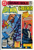 Brave And The Bold 143 1st Series DC 1978 NM- Batman Creeper Human Target