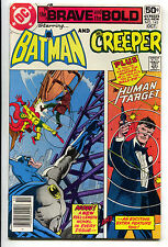 Brave And The Bold 143 1st Series DC 1978 NM- Batman Creeper Human Target