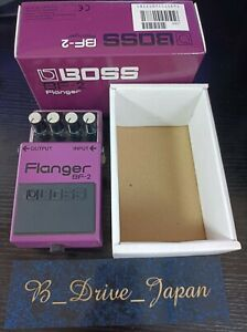 Boss BF-2 Flanger Guitar Effect Pedal Made In TAIWAN Shipped from Japan