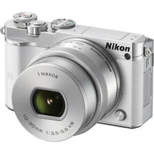 Nikon 1 J5 Mirrorless Digital Camera with 10-30mm Lens - White