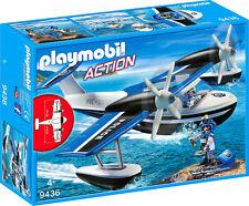 PLAYMOBIL 9436 - Polizei-wasserflugzeug Spiel AA