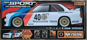 HPI Racing '87 BMW E30 RS4 Sport 3 2.4GHz 4WD RTR w/ Battery & Charger - #120103