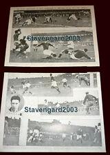 ARGENTINA (1) vs URUGUAY (0) Friendly 1934 ORIGINAL EL GRAFICO 3 clippings