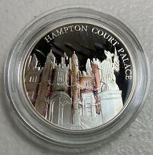 2017 Great Britain  Hampton Court Palace 5 Pound Silver Proof