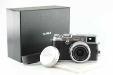 Fujifilm FinePix x100 con Fujinon 2 23 mm 23mm Super EBC argento FUJI 87252