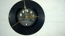 "John Lennon/Yoko Happy Xmas 7""VINYL Wall Clock 1974 Original Apple Records R5970"
