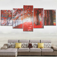 5Pcs Unframed Modern Art Oil Painting Print Canvas Picture Home Wall Room