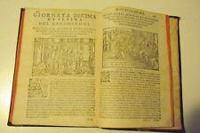 1597 - IL DECAMERON DI MESSER GIOVANNI BOCCACCI RISCONTRATO DA LIONARDO SALVIATI