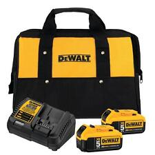 Dewalt DCB205-2CK 20V Max 5.0Ah Lithium Ion 2 Batteries Charger & Bag BRAND NEW!
