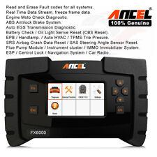 ANCEL FX6000 Full System ABS Airbag SAS EPB DPF Oil Reset OBD2 Diagnostic Tool