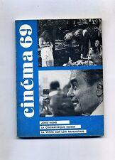 CINÉMA 69-Le Guide Du Spectateur N.133# F.F.C.C. Fevrier 1969