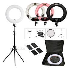 18'' Dimmable 5500k LED Studio Ring Light Beauty Make Up Selfie Video Photo Lamp