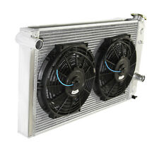 "3 Row Performance RADIATOR+10"" Fans for 82-02 Chevy S10 V8 Conversion ONLY"