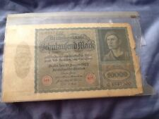 10000 Reichsbanknote January 1922
