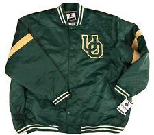 NWT Starter Mens NCAA University Oregon Ducks Retro Jacket Coat Green Size 5XL