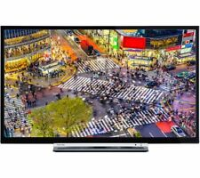"""TOSHIBA 24D3753DB 24"""" SMART LED TV FREEVIEW HD WiFi HDMI BUILT-IN DVD PLAYER"""