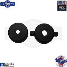 55 56 Chevy Bel Air Dash Board Radio Tone Control & Knob spacer Black USA Made