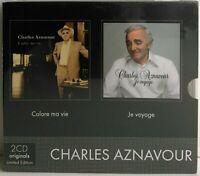 Charles Aznavour – Colore ma Vie + Je Voyage 2CD Box Set EMI 2009 limited