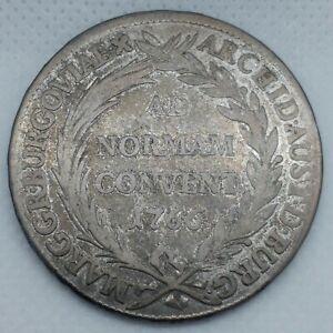 1766 MARIA THERESA,  AUSTRIA - Thaler Silver Coin