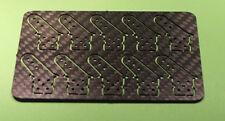 Ruderhorn / Ruderhörner aus 2mm CFK  12mm hoch 10Stk