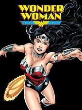 Justice League Wonder Woman Plush Fleece Throw Blanket 50x60