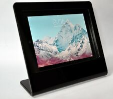 Black Acrylic Kiosk Stand POS Mount Kit for iPad 2 3 4 fits Square Reader