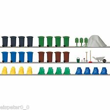 Busch Garbage and Trash Set 1136