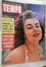 TEMPO 9 Giugno 1959 Anne Heywood Foster Dulles Anita Ekberg Campbell Tebaldi di