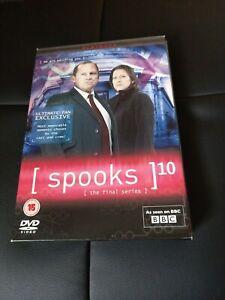 Spooks Season 10 Dvd