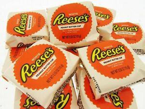 Reese's White Creme Peanut Butter Cups Lot of 12 Peanut Butter Candy Cream