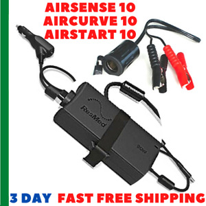 ResMed Mobile DC Power Cord Adapter Alligator Clips AirSense 10 CPAP 12V Battery