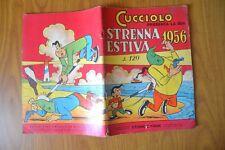FUMETTO CUCCIOLO STRENNA ESTIVA 1956 STORIE E FIABE N. 3 EDIZIONI ALPE MILANO