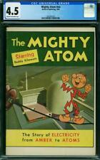 MIGHTY ATOM #NN  CGC 4.5 WESTERN PUBLISHING COW PAGES  A5