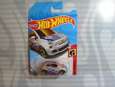 2018 HOT WHEELS ''HW DAREDEVILS''  = FIAT 500 = SILVER ,  int