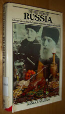 Sonia Uvezian The Best Foods of RUSSIA Cookbook First Edition 1976