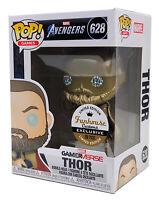 Funko Pop #628 Gold Metallic Avengers Thor Marvel Funhouse Custom Exclusive 1/20
