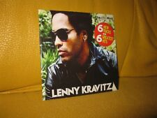 LENNY KRAVITZ CD 12 TRACK PROMO inc FLY AWAY, ARE YOU GONNA GO MY WAY