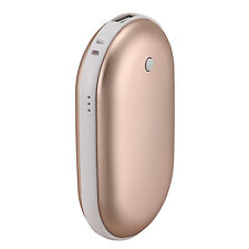 Gold 5200Mah Portable USB Charger Pocket Electric Hand Warmer Rechargeable