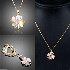 Swarovski Modeschmuck-Halsketten & -Anhänger aus Kristall und Metall-Legierung