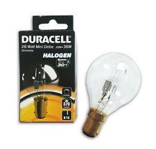 10 x Duracell 28w SBC B15 Halógeno Golf caliente ahorro de energía lámpara bombilla 40w