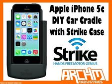 STRIKE ALPHA APPLE IPHONE 5C CAR CRADLE WITH STRIKE CASE DIY - BUILT-IN CHARGER