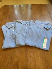 Clearance Lot of 3 Boys sz. Lg. Husky 10/12 uniform shirts New