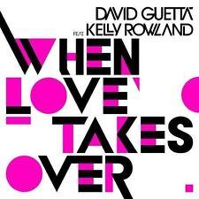 DAVID GUETTA - WHEN LOVE TAKES OVER [SINGLE] NEW CD