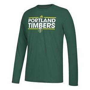 MLS Portland Timbers adidas Ultimate Long Sleeve Dassler Tee Adult XL