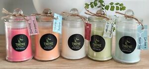 100%  Natural Soy Candles, Thrive Candles Australia 30+hrs burn