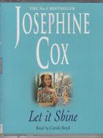 Let it Shine Josephine Cox 2 Cassette Audio Book Abridged Historical Romance