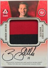 2017/18 FFA A-League Trading Cards - Brendon Santalab Jersey Patch Card #9/100
