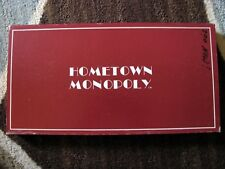 HOMETOWN MONOPOLY BLOOMINGTON INDIANA EDITION CITI GAMES 1983