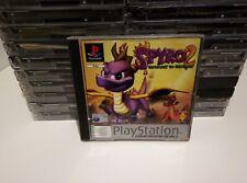 Spyro 2 Gateway To Glimmer Ps1 Psone Playstation 1